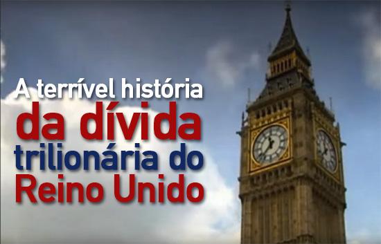 A terrível história da divida trilionária do Reino Unido