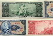 Moeda Brasil no dinheiro